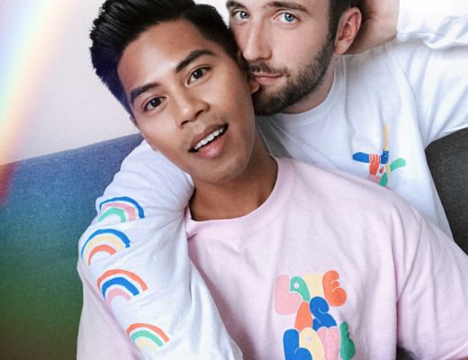 Urban Outfitters Pride collection gay couple pride