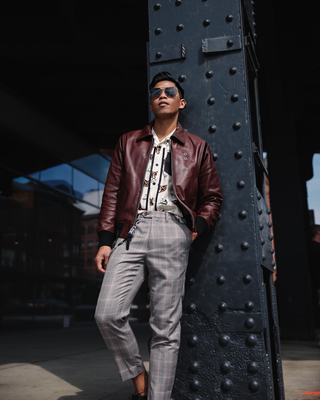 coach mens 2017 street style blogger