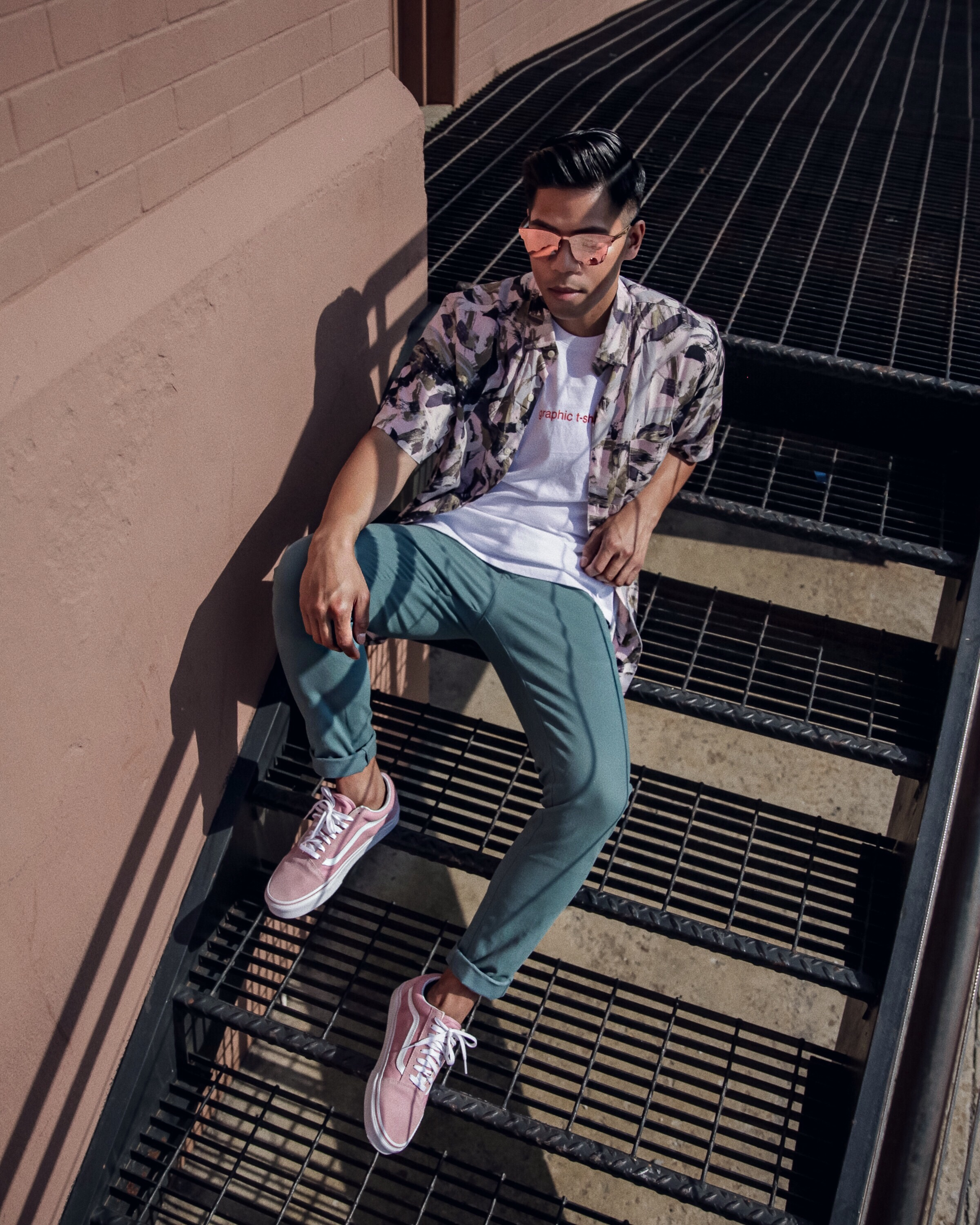 Urban Outfitters Mens spring summer 2017 blogger street style