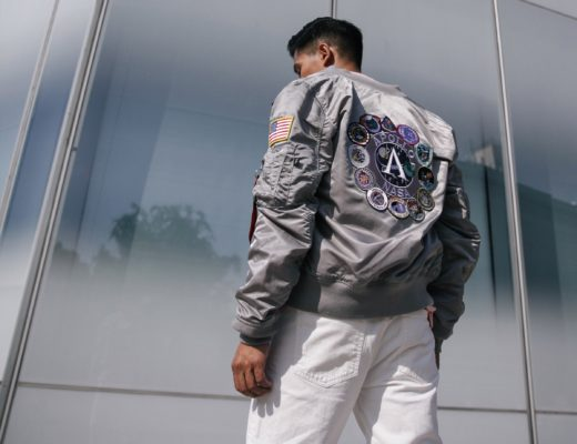 alpha industries nasa bomber jacket street style blogger