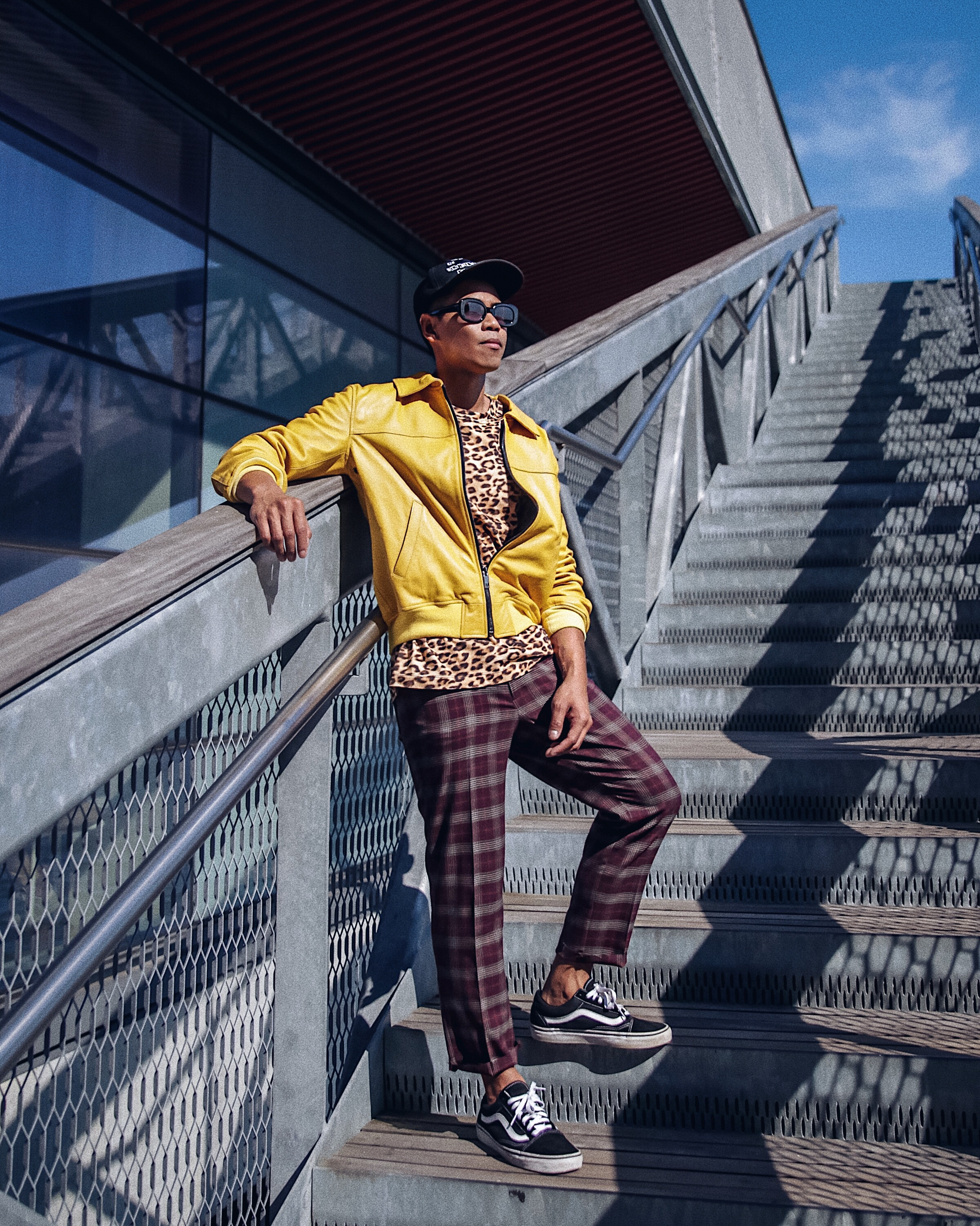 how to wear plaid pants for guys street style blogger
