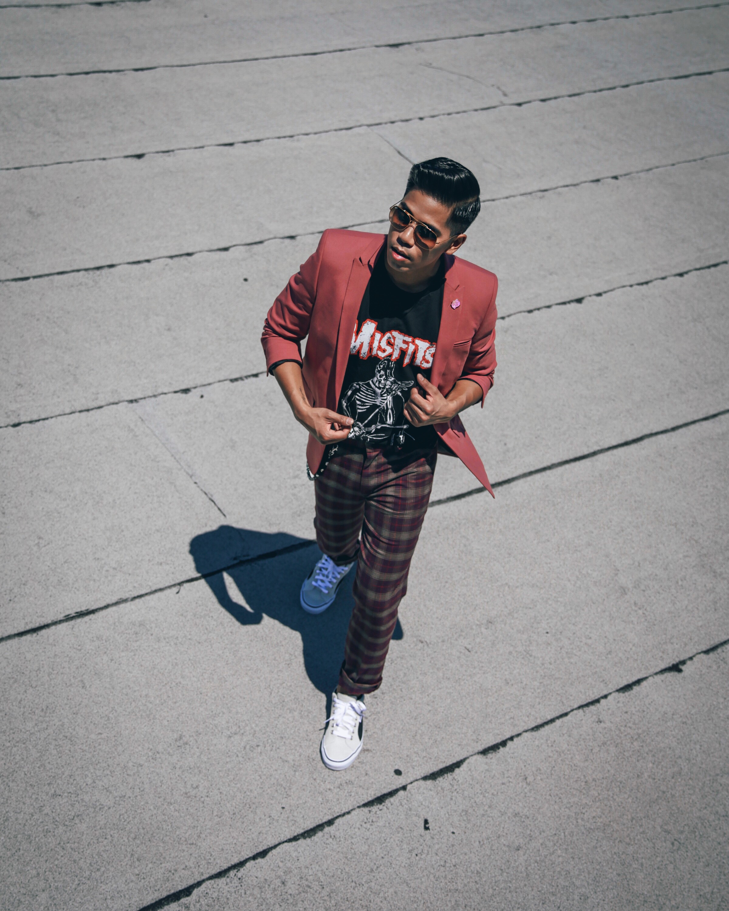 alternative ways to wear a suit for guys blogger street style