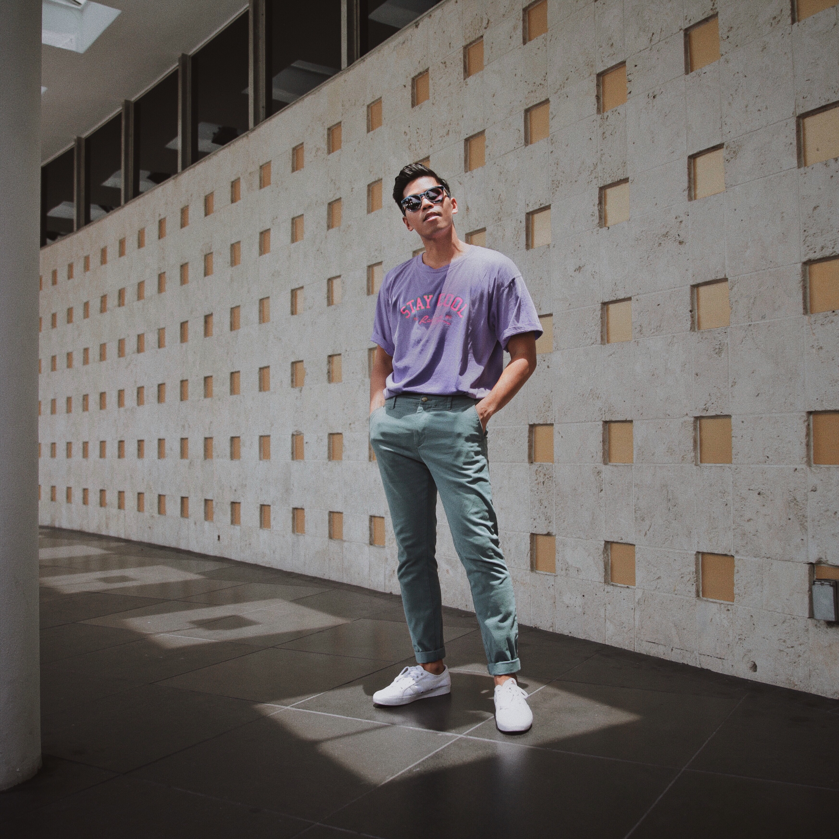 stay cool nyc tshirt blogger styled menswear