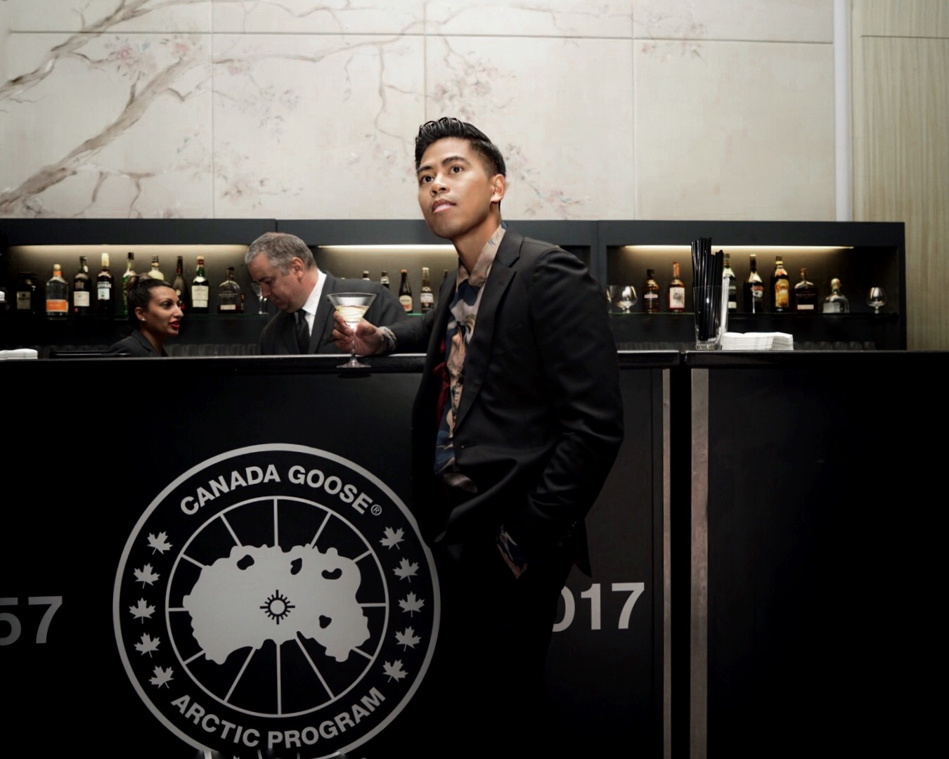 canada goose 60 year anniversary party four seasons toronto