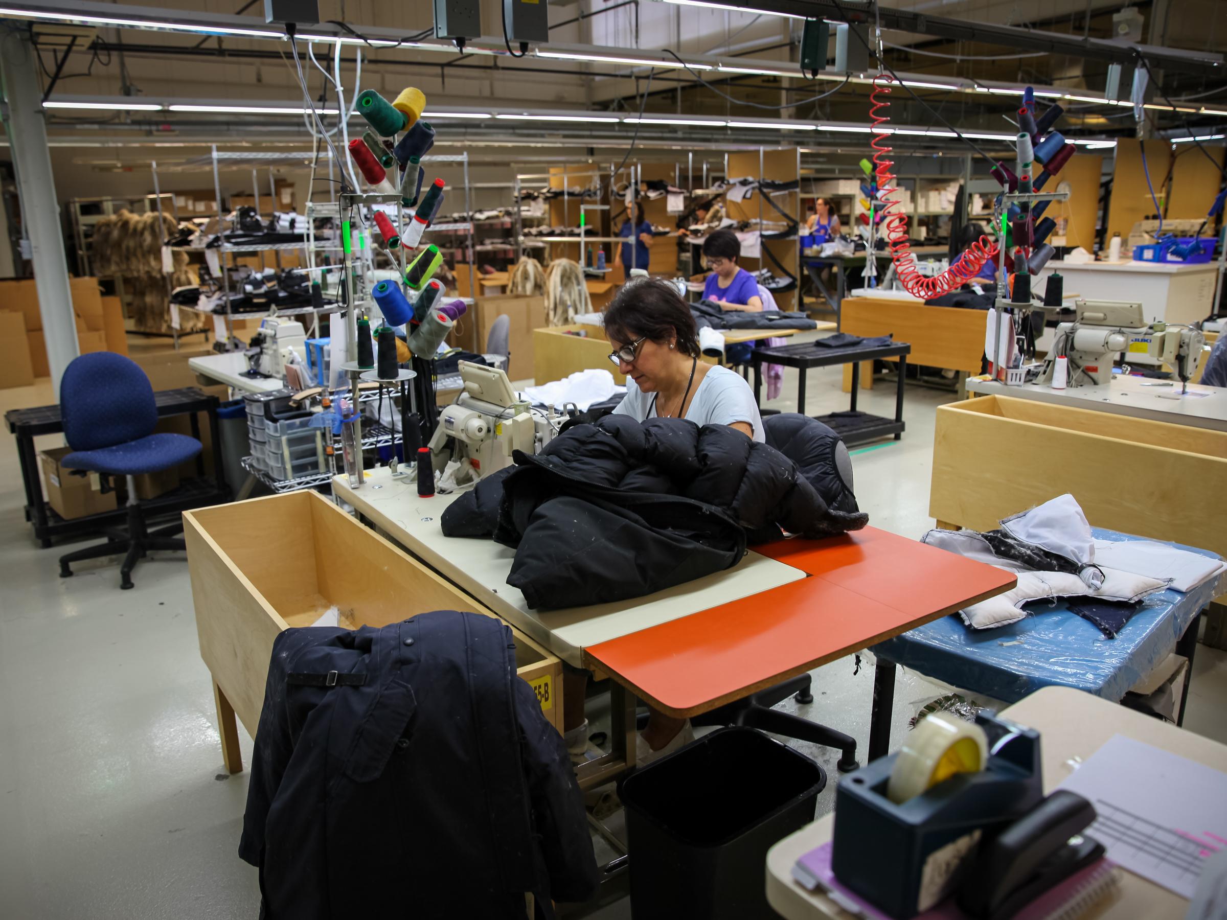 Canada Goose Toronto Factory Tour