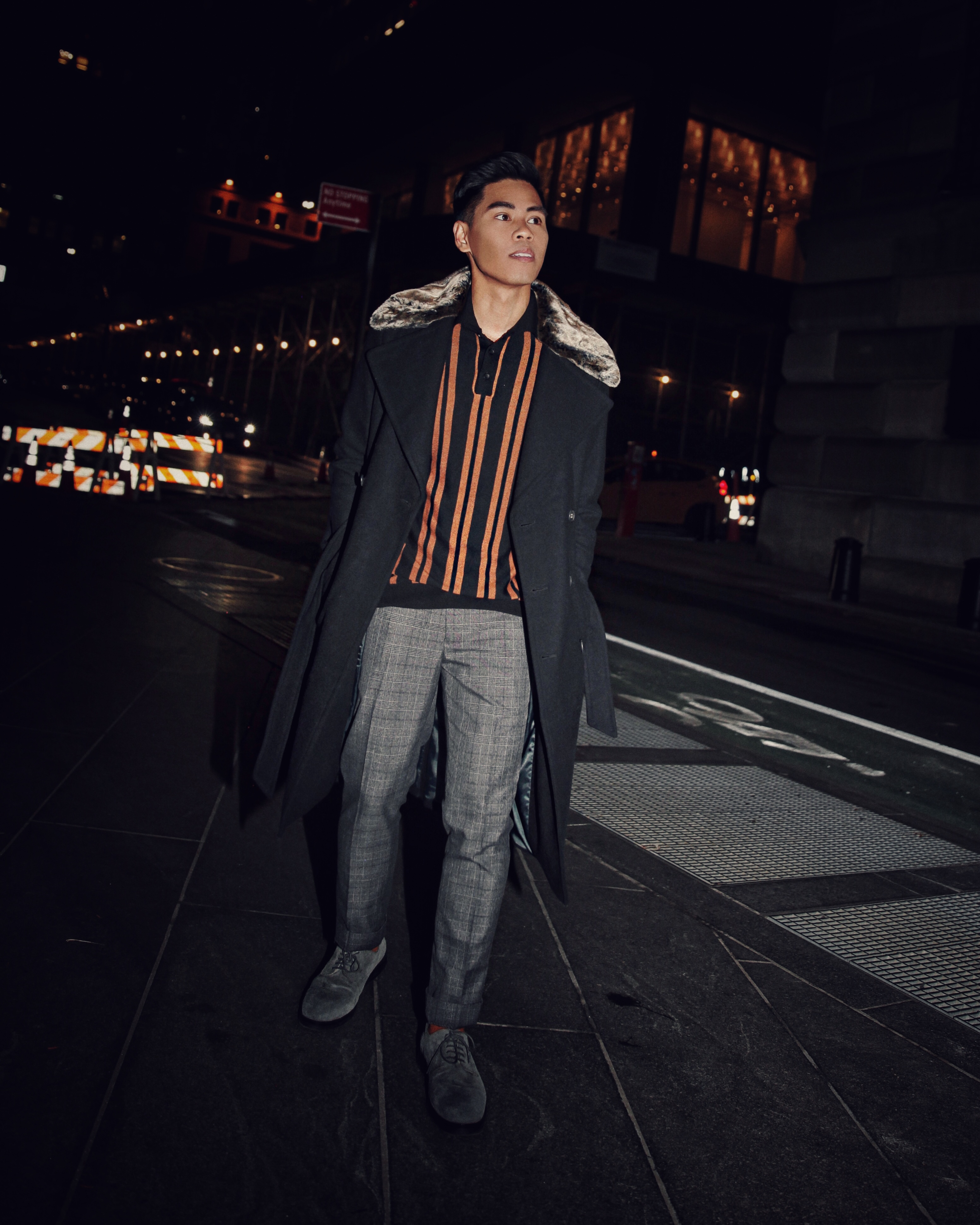 festive holiday party attire for guys street style blogger