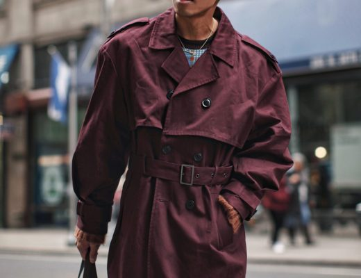 mens must have spring jacket trench coat street style blogger