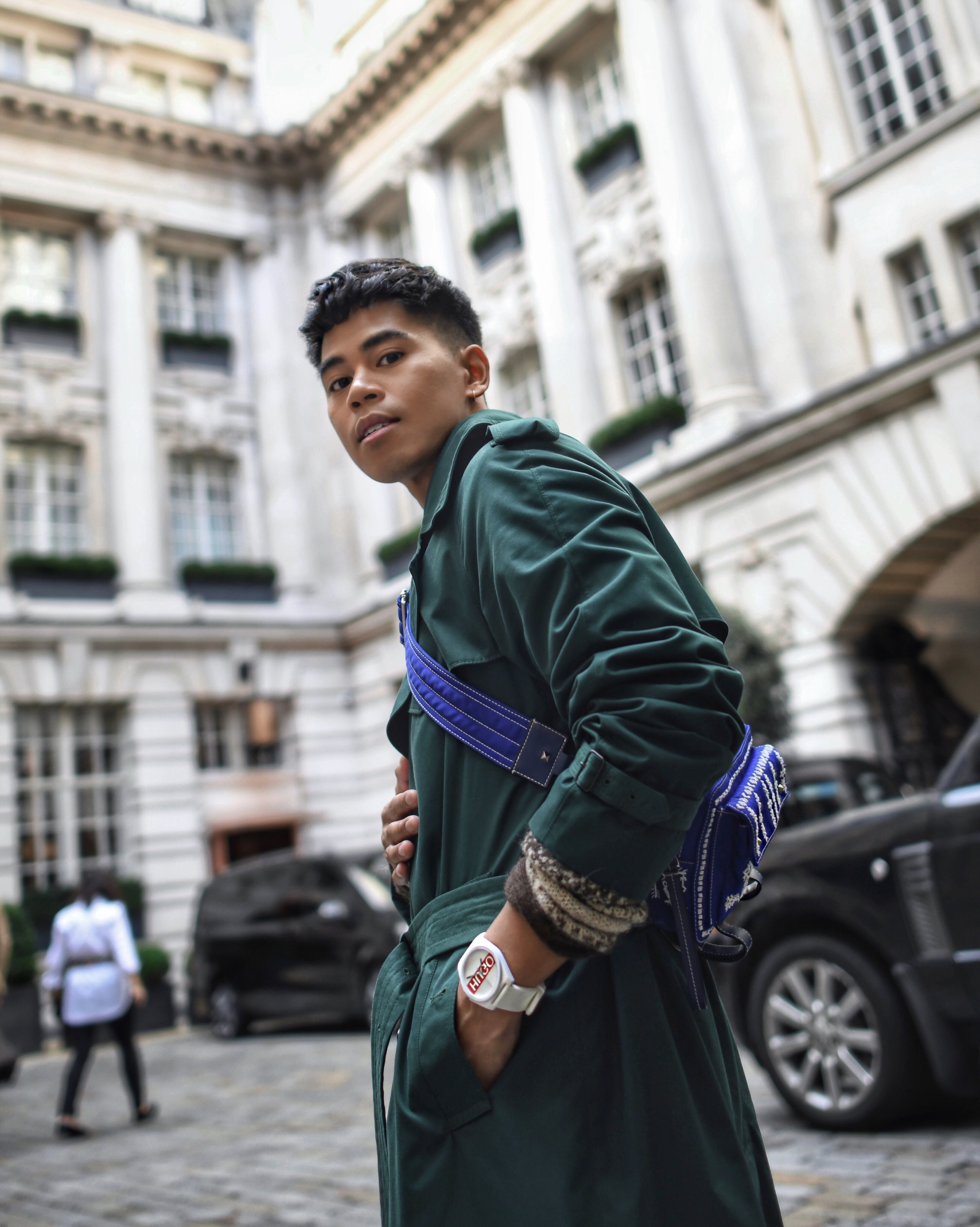 burberry mens trench streetstyle blogger