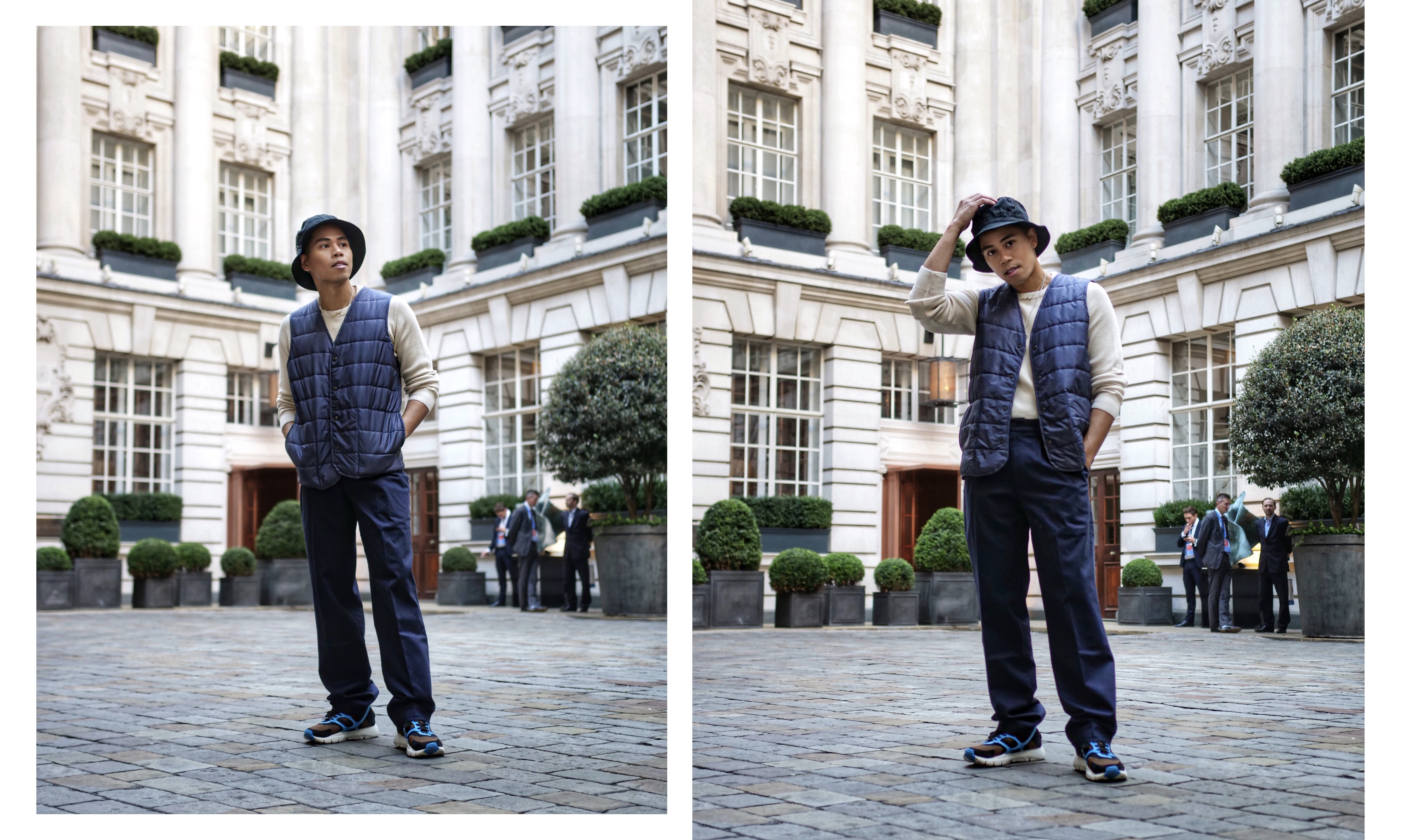 how to wear a bucket hat mens streetstyle outfit