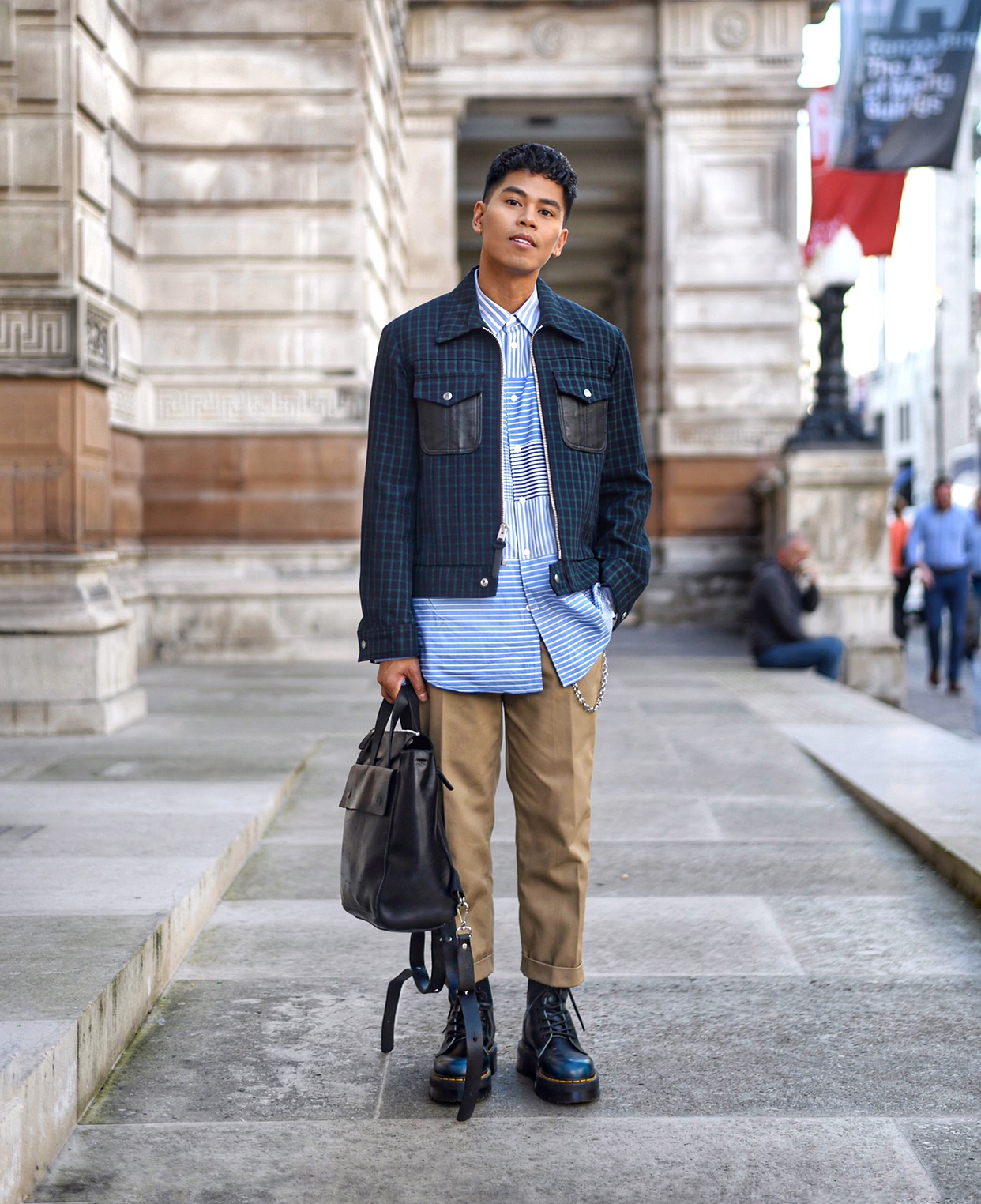 how to wear the new preppy style for men streetstyle blogger
