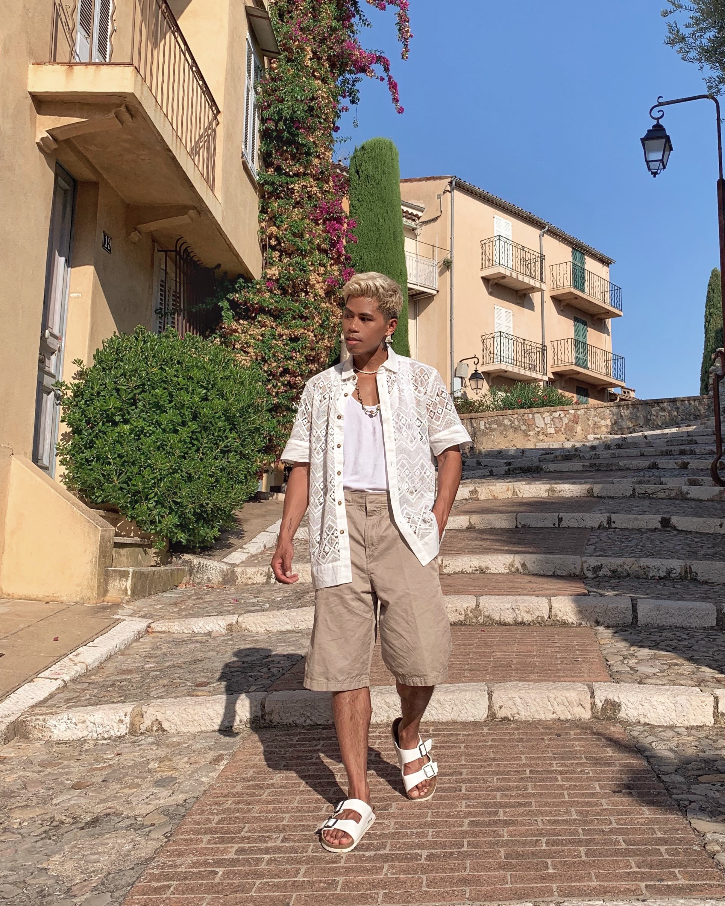 what to wear on vacation french riviera nice france blogger vacation style