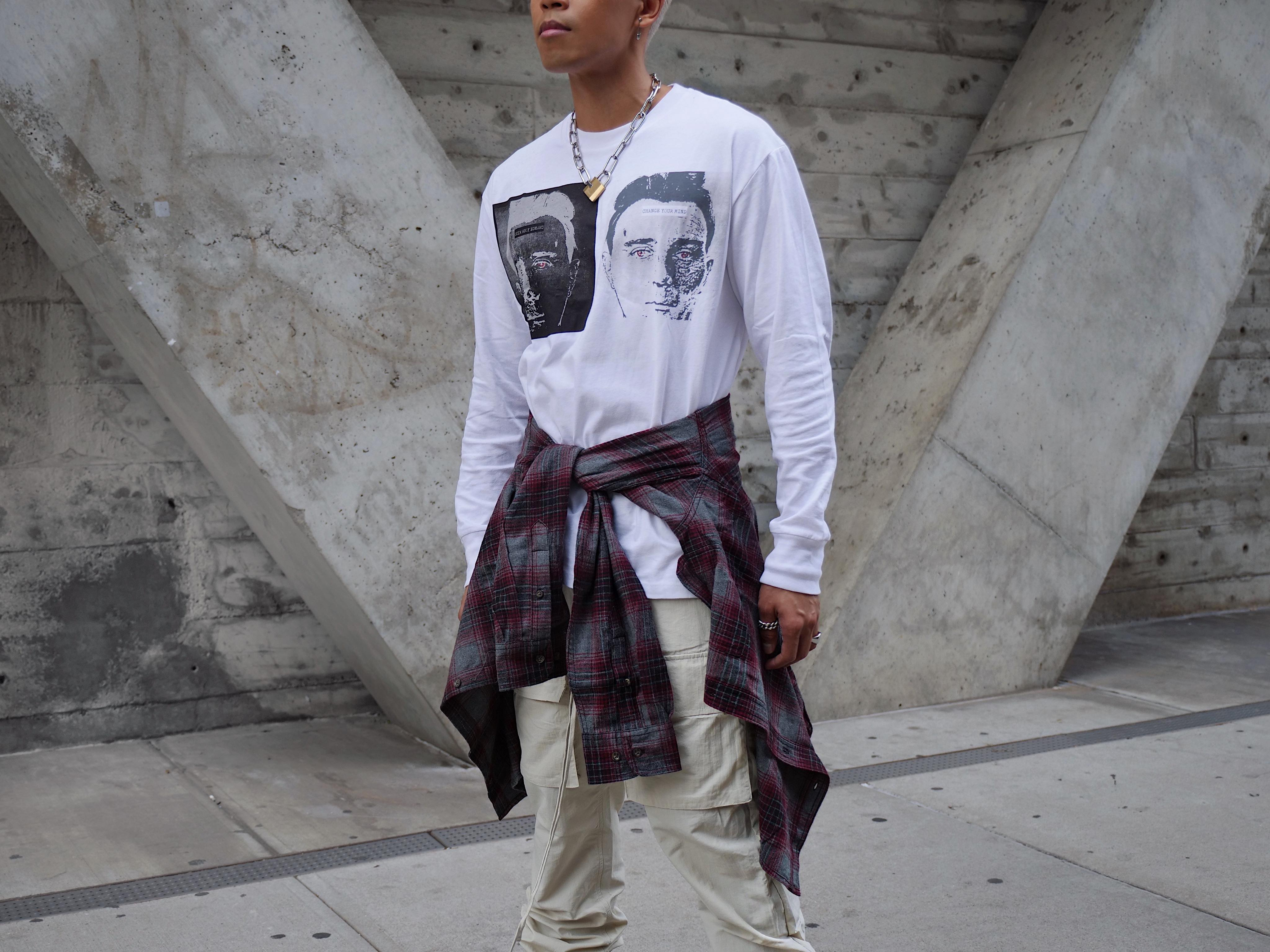 mens fall streetwear trend outfit